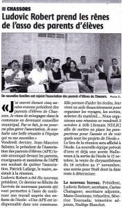 Charente Libre du 02/10/2014