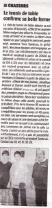 Charente Libre du 15/10/2014