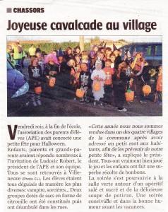 Charente libre du 22/10/2014