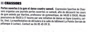 Portes ouvertes Dance Country