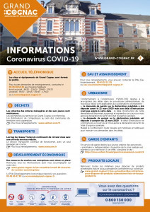 Information GRAND-COGNAC Covid-19